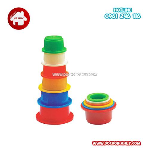 Bộ đồ chơi lồng hộp tròn