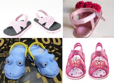 Chia sẻ cách chọn giày trẻ em cho mùa hè tốt nhất