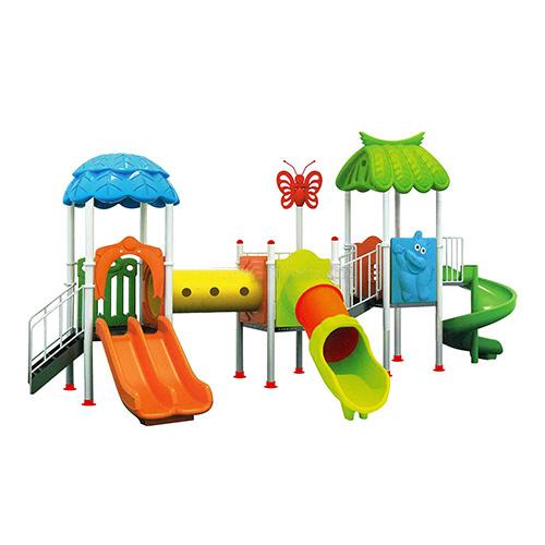 Nhà liên hoàn ngoài trời 3 khối cho sân chơi trẻ em HB10-024