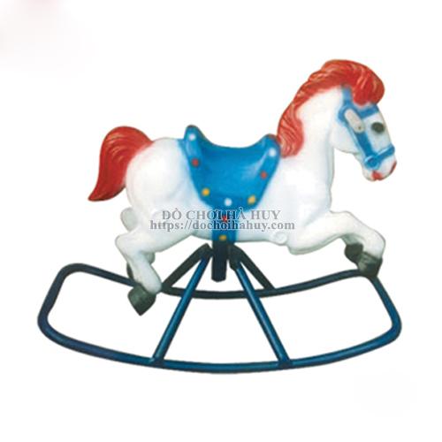 Bập bênh đơn con ngựa sắt HB2-021-A
