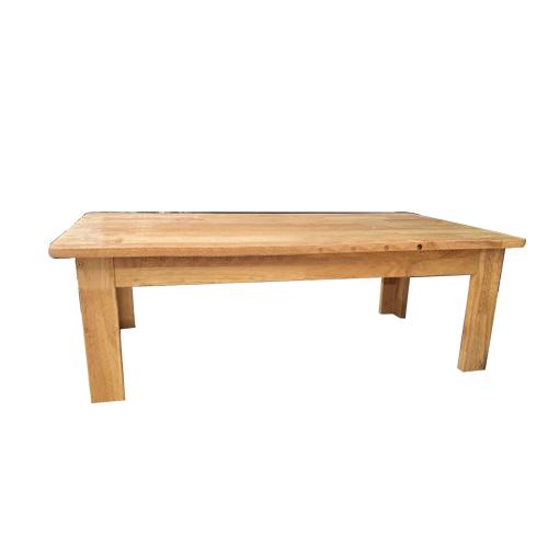 Bàn gỗ mầm non chân gỗ cao 30cm HC1-006