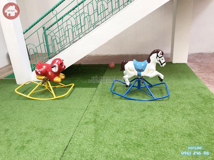 bập bênh đơn con chó đốm HB2- 022