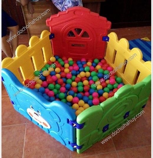 Lựa chọn các mẫu bể bóng cho bé, quay bóng cho bé bằng nhựa nhập khẩu chất lượng Be-bong-hinh-mai-nha1-crop