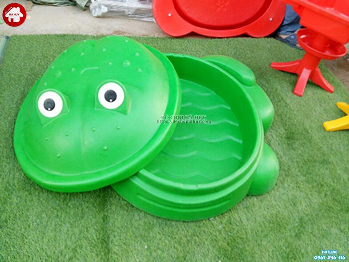 Bể chơi cát nước con ếch nhập khẩu HA7-034