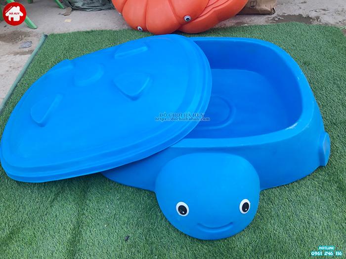 Bể chơi cát nước con rùa không nắp nhập khẩu HA7-036
