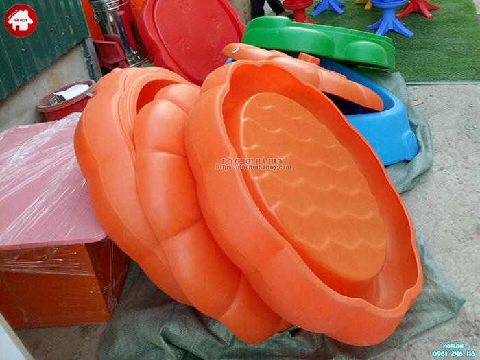 Bể chơi cát nước quả bí ngô HA7-037