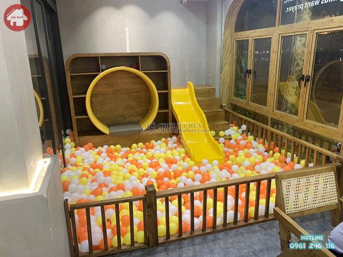 bóng nhựa khu vui chơi cho bé giá rẻ chất lượng