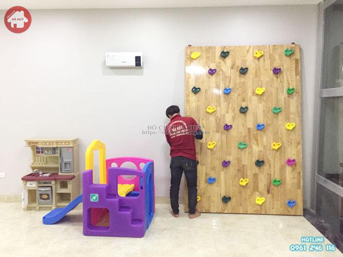 Cầu trượt 1 khối L502 cho bé nhập khẩu mới nhất tại Hà Nội