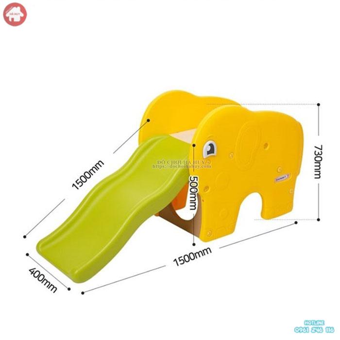 Cầu trượt con voi Coco nhập khẩu mới nhất giá rẻ