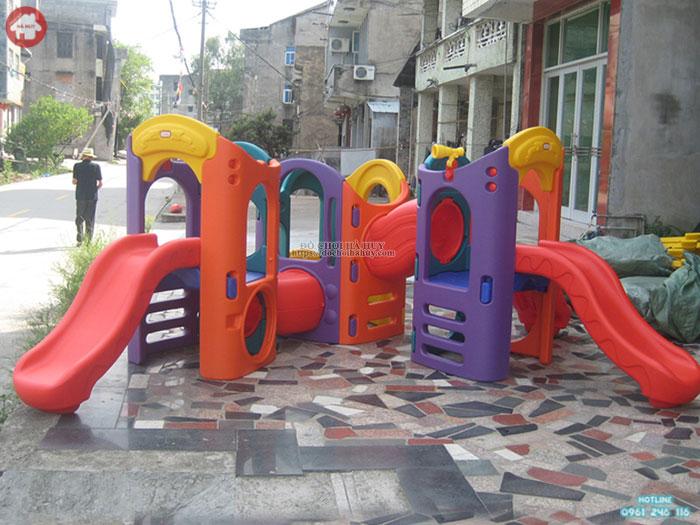 Cầu trượt hầm chui L504 cho bé nhập khẩu giá rẻ tại Hà Nội