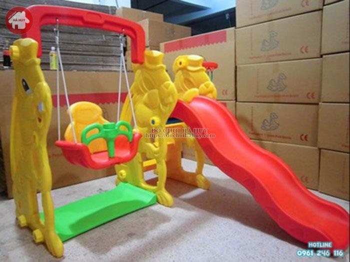 Cầu trượt xích đu con Thỏ HA3-024