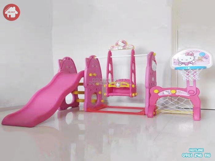 Cầu trượt xích đu Hello Kitty HA3-025