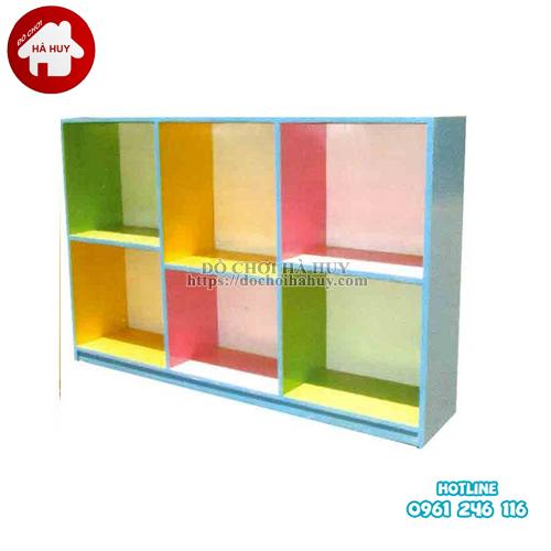 giá đồ chơi 2 tầng 6 khoang HC5-041