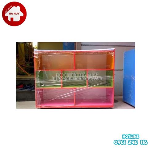 giá đồ chơi 3 tầng 7 khoang HC5-042