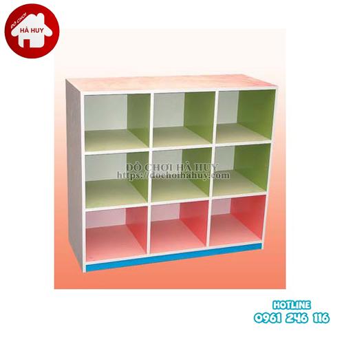 giá đồ chơi 3 tầng 9 khoang HC5-043