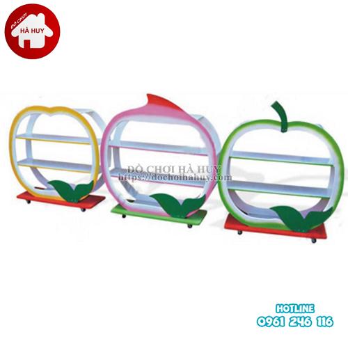 giá đồ chơi các loại hoa quả 3 tầng HC5-012