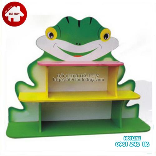 giá đồ chơi con ếch 3 tầng HC5-084