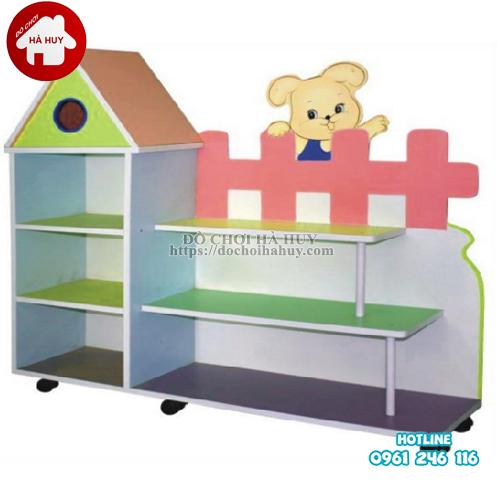 giá đồ chơi hàng rào 3 tầng HC5-035