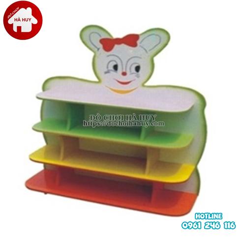 giá đồ chơi hình con thỏ 4 tầng HC5-007