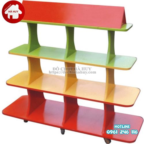 giá đồ chơi hình mái nhà HC5-021