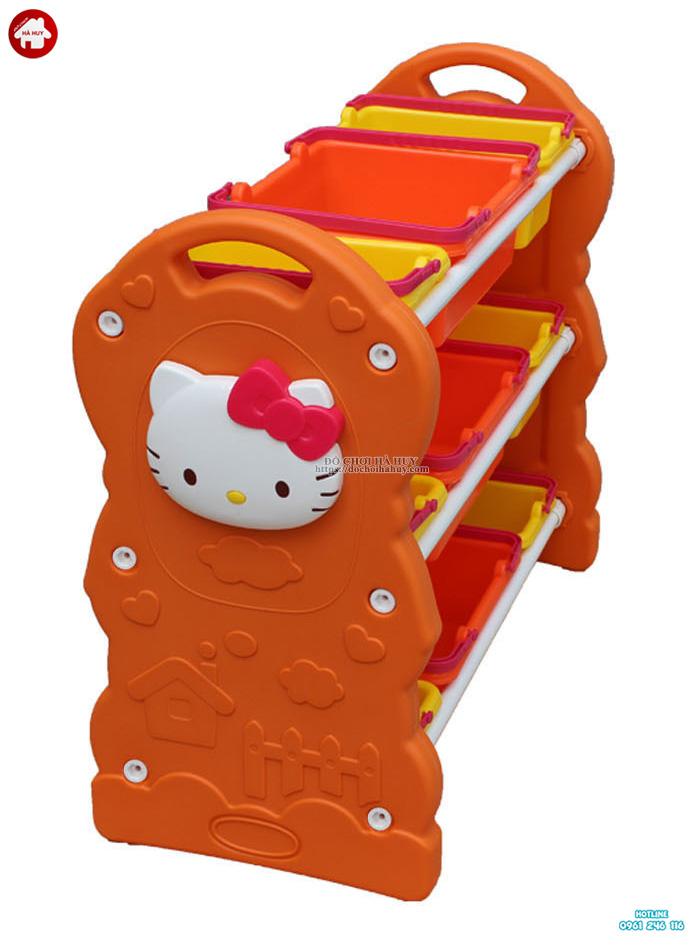 Giá đồ chơi Helo Kitty màu cam HA2-002