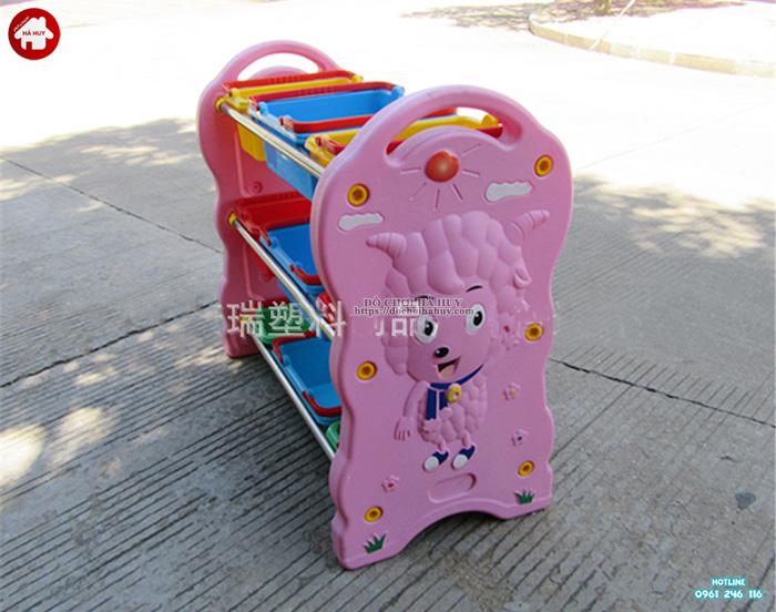 Giá để đồ chơi cho bé nhập khẩu hình Cừu HA2-006