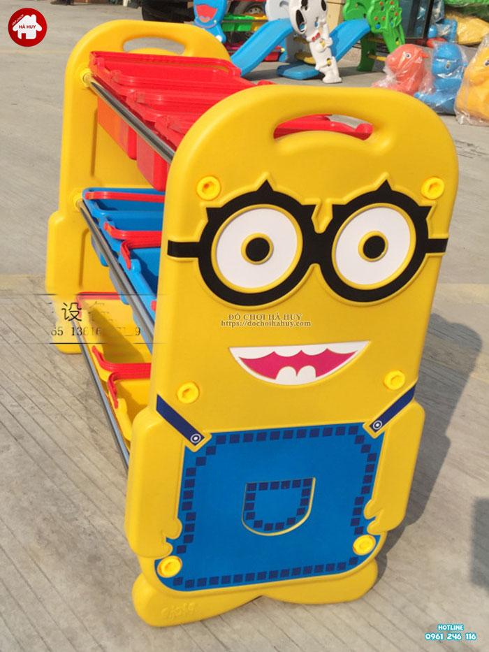 Giá để đồ chơi Minion nhập khẩu HA2-008