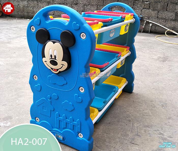 Giá để đồ chơi cho bé hình chuột Mickey HA2-007