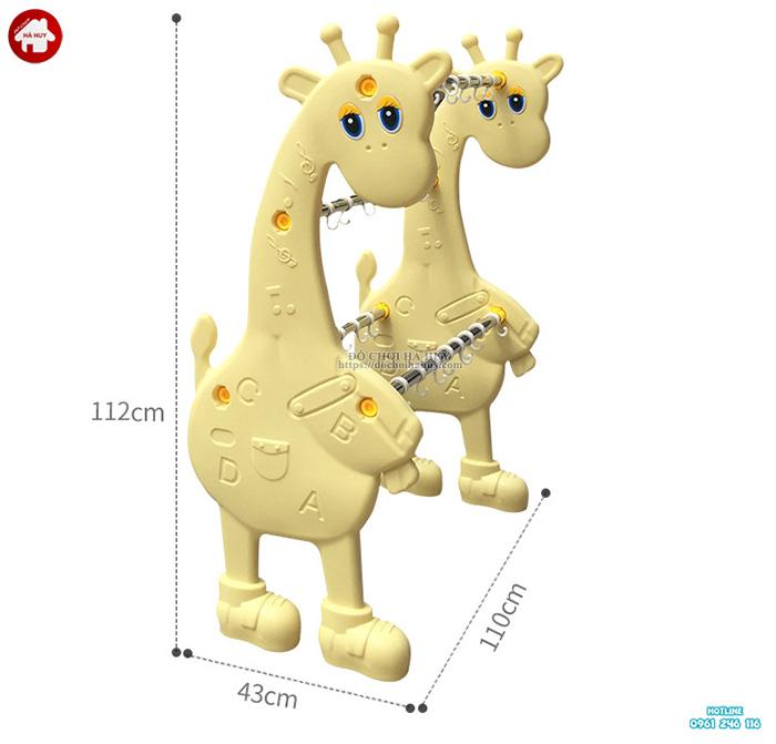 Giá phơi khăn cho bé con Hươu nhập khẩu HA2-019