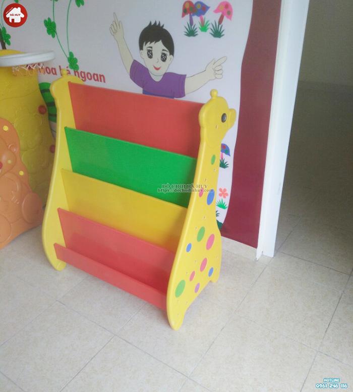 Giá sách con Hươu bằng nhựa cho bé HA2-014