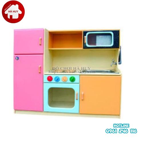 Tủ bếp có bồn, tủ lạnh HC5-061