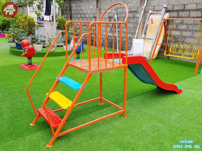 Thang leo cầu trượt đơn trẻ em giá rẻ chất lượng HB1-016