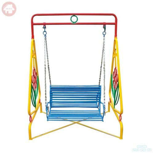 Xích đu cho bé 4 chỗ ghế sắt HB4-011