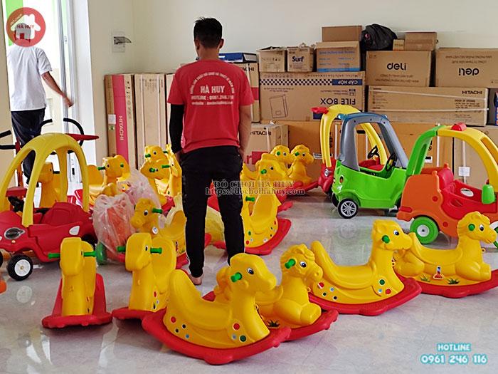 Bập bênh đơn con Nai Việt Nam HA5-004