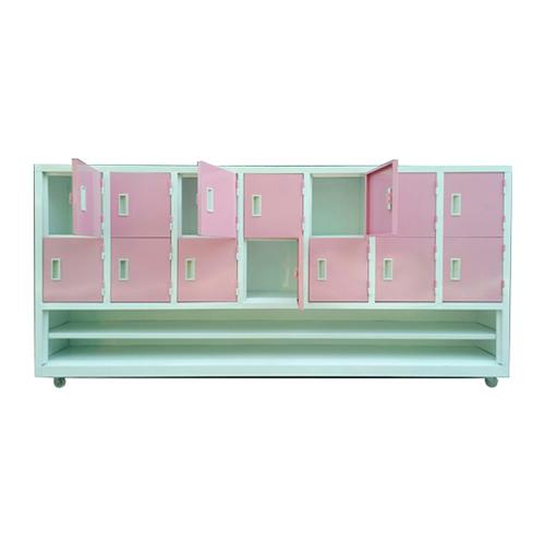 Tủ đựng đồ cá nhân có 2 tầng dày dép HC6-002
