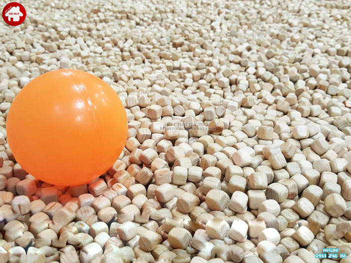 Hạt gỗ cho bé chơi xúc cát HE5-005
