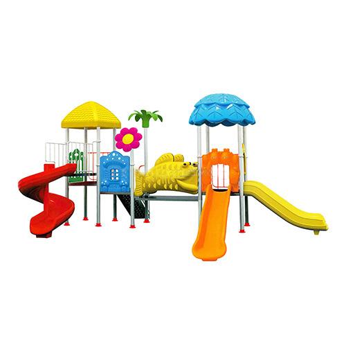 Đồ chơi liên hoàn ngoài trời 2 khối sân chơi trẻ em ngoài trời HB10-018