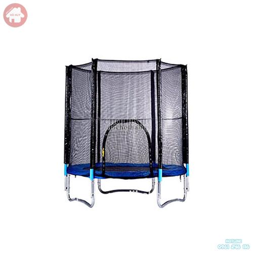Sàn nhún cho bé thể dục có lưới quây cho bé mầm non HE3-002