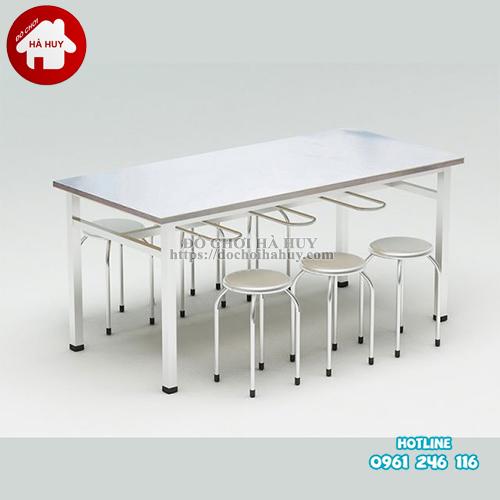 bàn ăn inox HD3-045