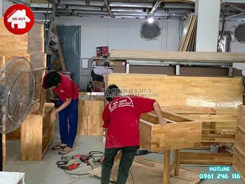 Giá mầm non 2 tầng gỗ tự nhiên HC4-003-4