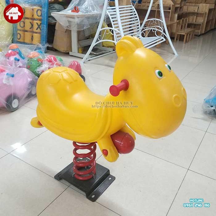 Thú nhún lò xo con Rùa nhập khẩu HB2-017-3