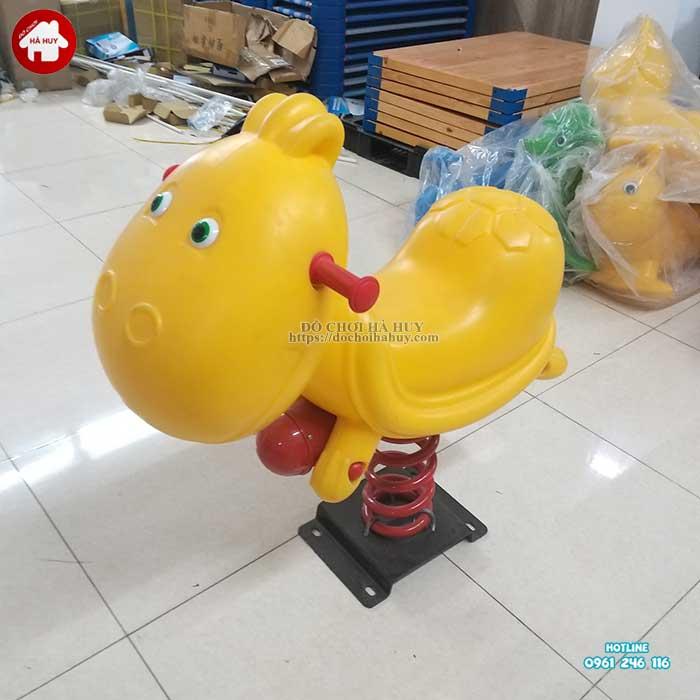 Thú nhún lò xo con Rùa nhập khẩu HB2-017-4