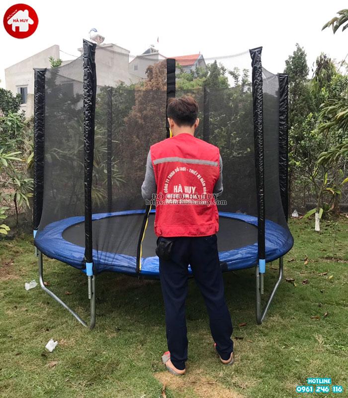 Sàn nhún thể dục có lưới quây HE3-002-4