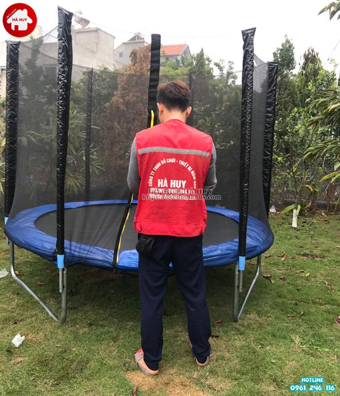 Sàn nhún thể dục có lưới quây HE3-002-7
