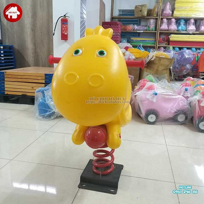Thú nhún lò xo con Rùa nhập khẩu HB2-017-2