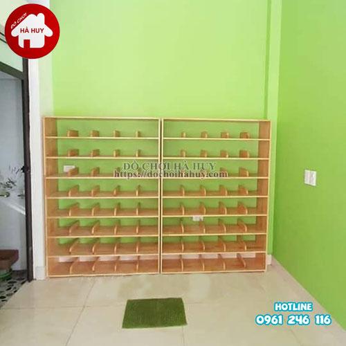 Tủ giày dép mầm non HC4-018-1
