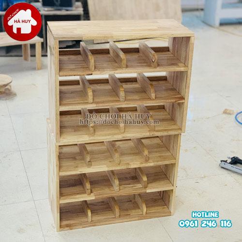 Tủ giày dép mầm non HC4-018-2