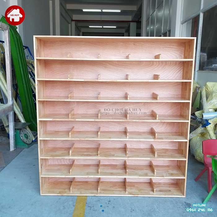 Tủ giày dép mầm non HC4-018-4