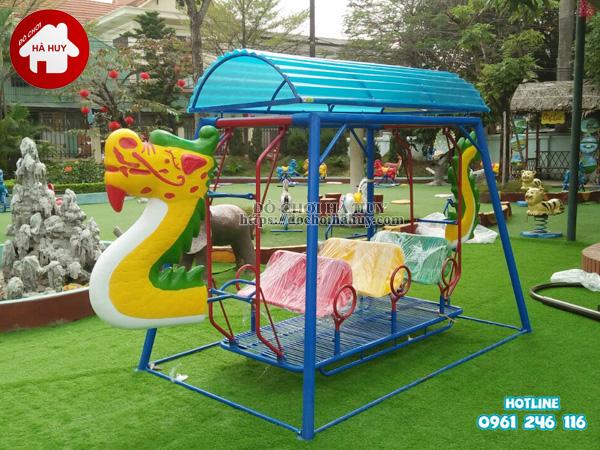 Bàn giao lắp đặt đồ chơi mầm non trường mầm non tại Hà Nội