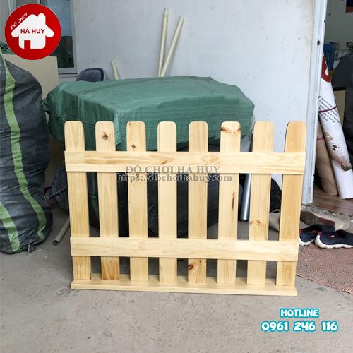 Hàng rào gỗ cho trường mầm non HC2-006